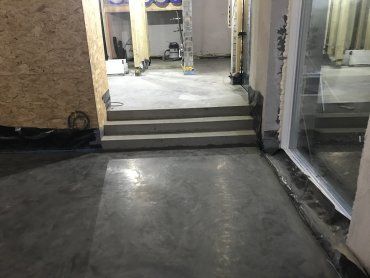 Orchard Farm – Polished Concrete Floor